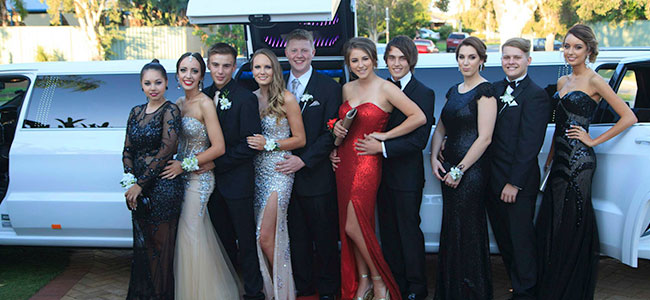 Limo School Ball Services | Bellagio Limousines