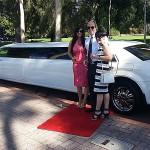 Limo Hire Perth - White Chrysler Limos Perth