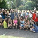 Bellagio Limousines in Kings Park Perth with Beautiful Party Ladies