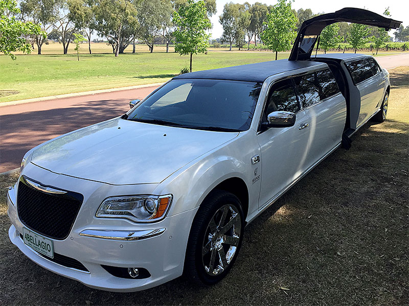 Limo-Hire-Perth-Chrysler-300-12-passenger-limousine-Bellagio-Limousines