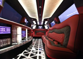 12 Full Passenger Seating - A Full 160 Inches of Stretch Limousine Hire Perth by Bellagio Limousines Perth