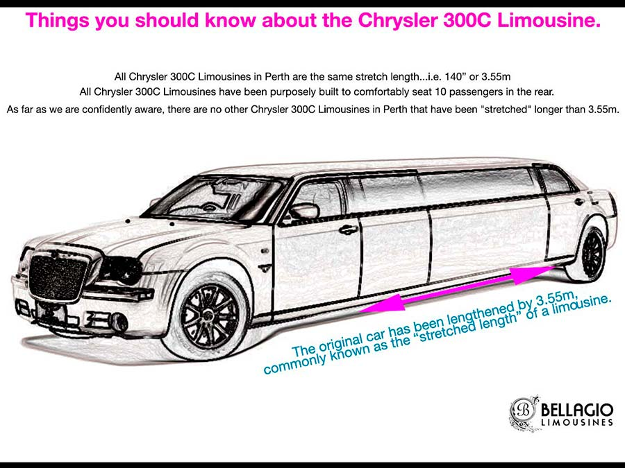 12-seater-limousines-perth-hire-Chrysler-300c-Sketch
