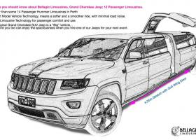 12-seater-limo-hire-perth-2015-Grand-Cherokee-Jeep-Limousine-Sketch