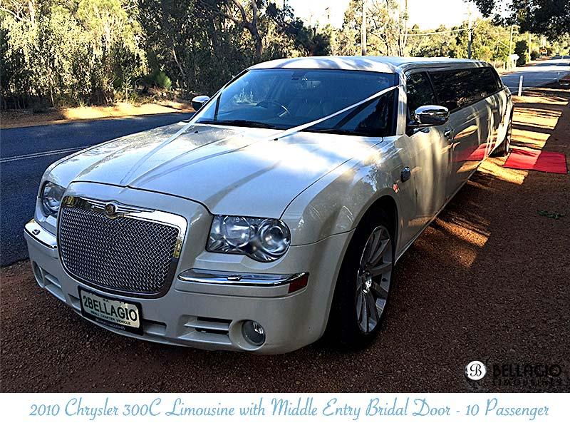 Limousines-in-perth-2bellagio-white-chrysler-limos-10-passenger-exterior