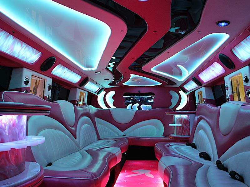 Limousine-Hire-Pink-Hummer-Perth-Interior-Picture