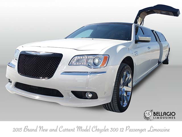 Perth's Longest and Newest 2015 Current Model Chrysler Pearl White Limousine